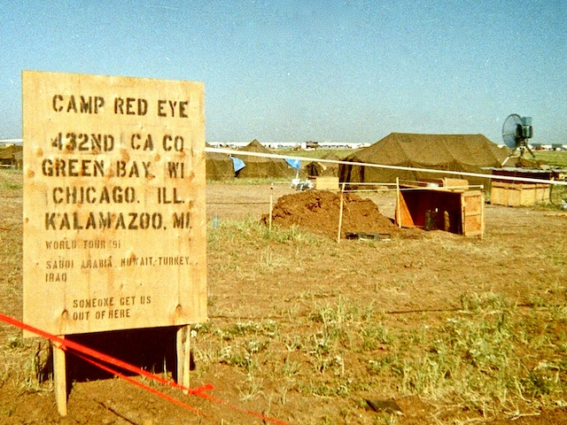 Camp Redeye: 432nd Civil Affairs World Tour. Someone get us out of here!
