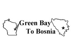 Green Bay to Bosnia Logo
