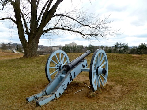 DeKalb's artillery keeping urban creep at bay.