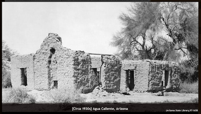 Adobe building in the 1930s. Perhaps the big one I found?