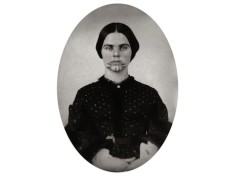 Olive Oatman in 1857, two years after leaving the Mohave.