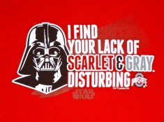 I find your lack of Scarlet & Grey disturbing.