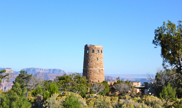 Grand Canyon : Desert View Watchtower