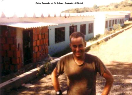 SFC Frazee in Grenada