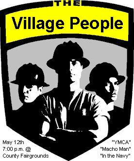 Columbus Crew meet the Village People