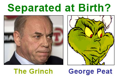 George Peat & The Grinch : Separated at Birth