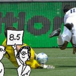 Landon Donovan diving score