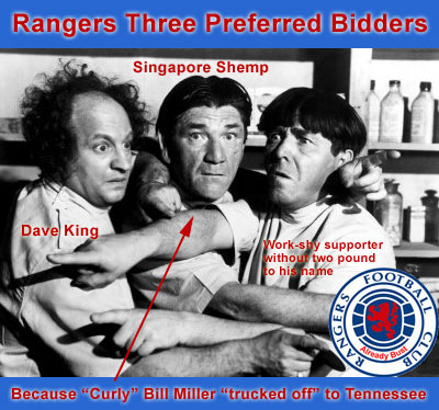 Rangers Three Preferred Bidders