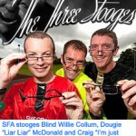 SFA Stooges Collum McDonald Thomson