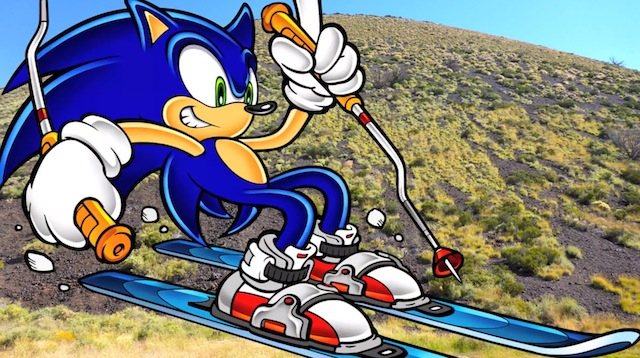 Sonic Skiing SP Crater