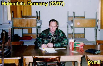 CPT McMurry in barracks