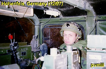 CPT McMurry in Humvee