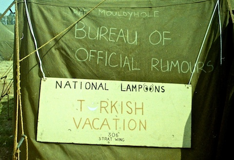RAF Mouldyhole : National Lampoon's Turkish Vacation