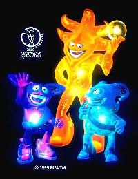 World Cup 2002 Mascots