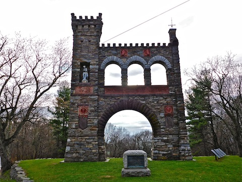 Gath Townsend's War Correspondents Memorial Arch.