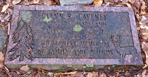 Glenn R. Caveney memorial.
