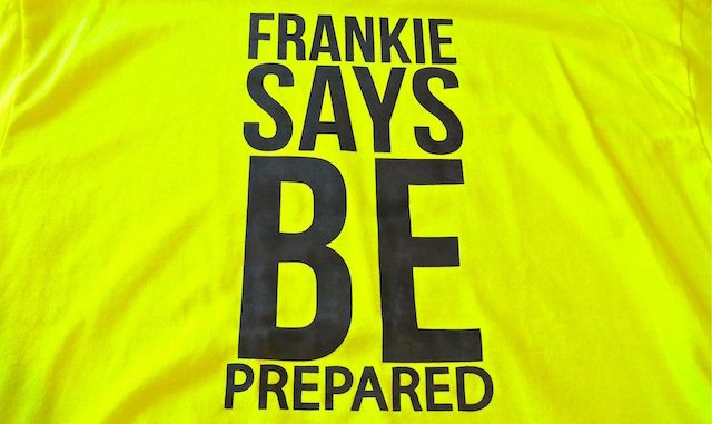 "Frankie MacDonald, Canadian weatherman, ""Says Be Prepared!"""