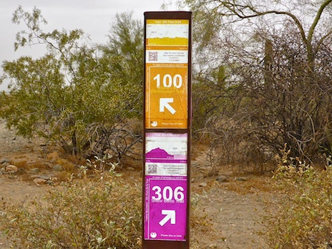 You have to try really hard to get lost when each trail marker has an elevation profile, distance, direction and mobile-enabled QR code to keep you on track.