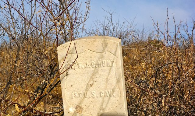 The only grave remaining in Wagoner Cemetery.