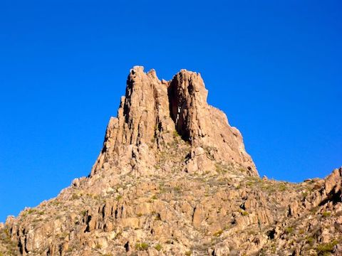 The south face of Miners Needle.