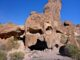 Skull Rock is 10 miles from US-95 on Kofa Queen Canyon Road.