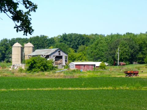 My favorite farm along the Wild Goose State Trail.